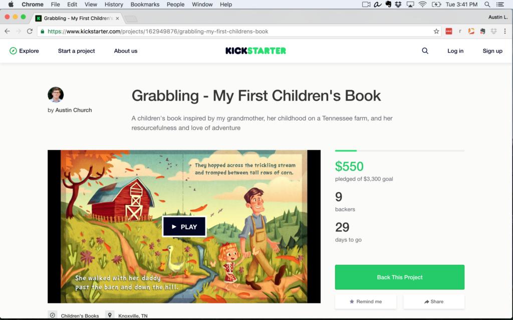 grabbling kickstarter campaign