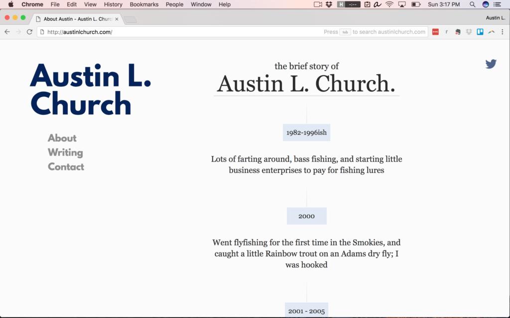 AustinLChurch.com Circa 2015