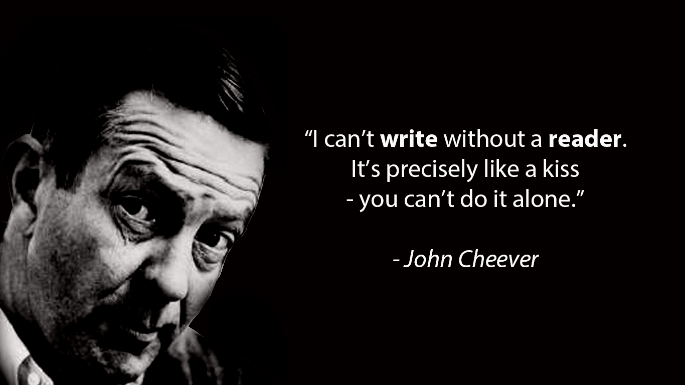 Quote from John Cheever About Importance of Reading